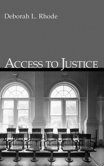 Access to Justice als Buch