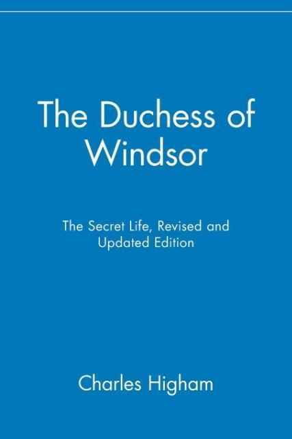 The Duchess of Windsor: The Secret Life als Taschenbuch