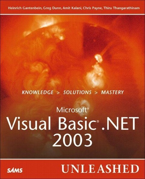 Visual Basic .Net 2003 Unleashed als Buch