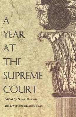 A Year at the Supreme Court als Taschenbuch