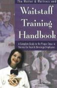 Waiter, Waitress & Waitstaff Training Handbook als Taschenbuch