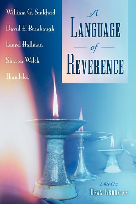 A Language of Reverence als Taschenbuch