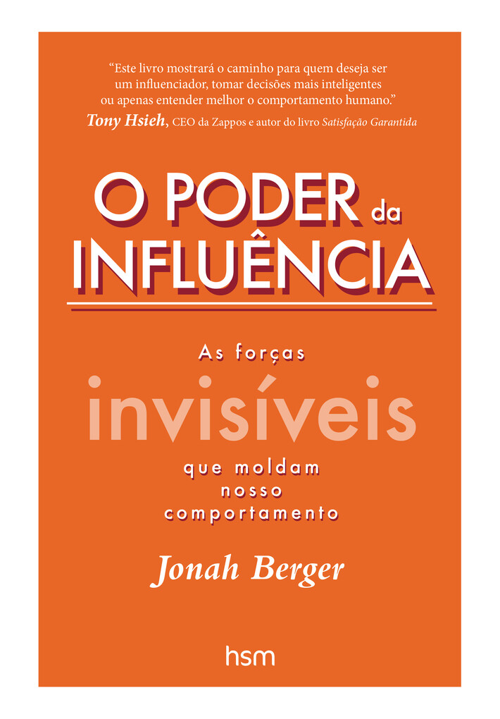 O Poder da Influência als eBook von Jonah Berger - HSM