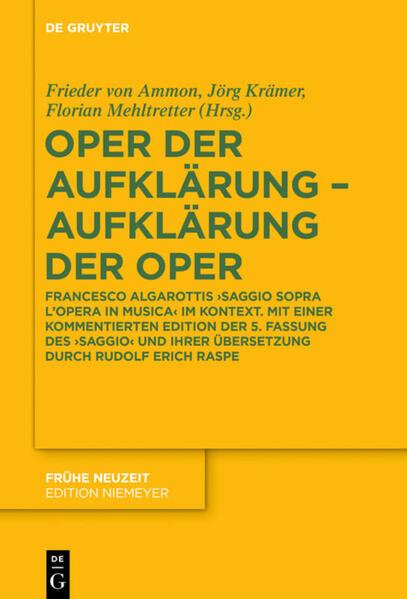 Oper der Aufklärung - Aufklärung der Oper als Buch (gebunden)
