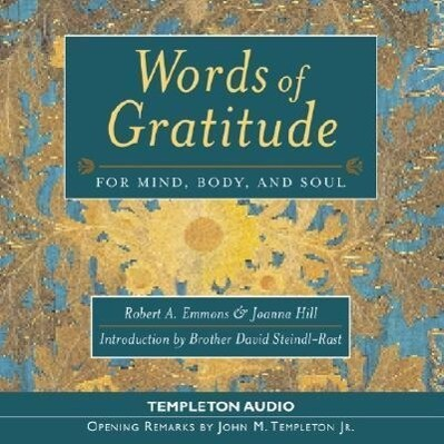 Words of Gratitude for Aud CD als Hörbuch