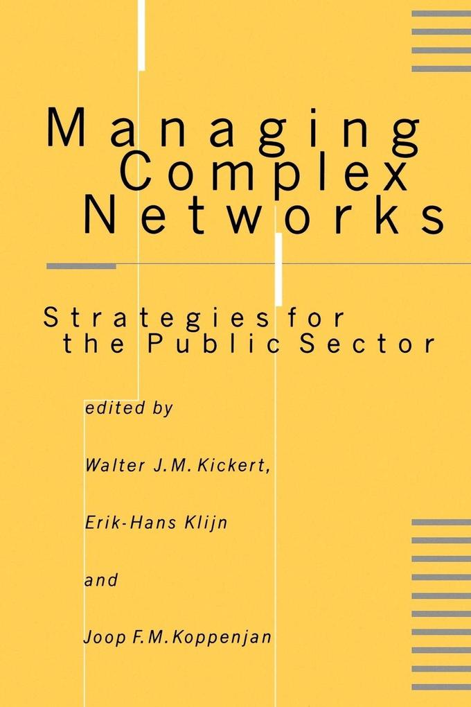 Managing Complex Networks als Buch