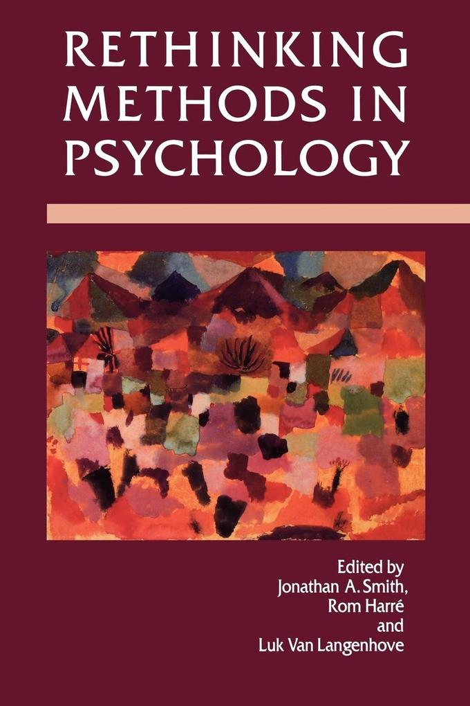 Rethinking Methods in Psychology als Buch