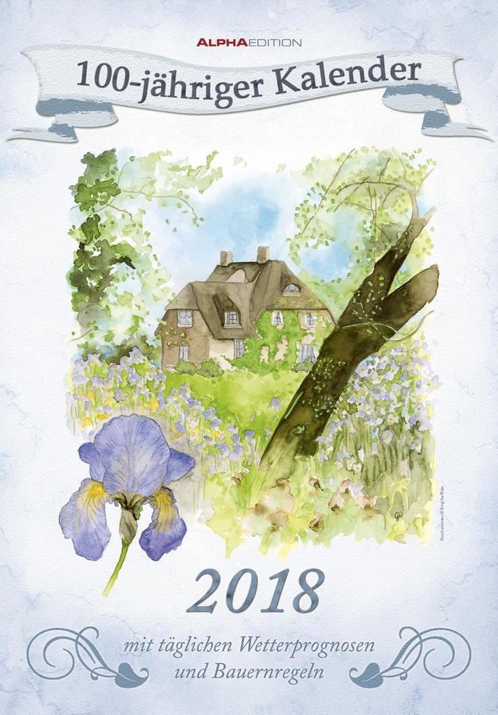 100-Jähriger Kalender 2018 als Kalender