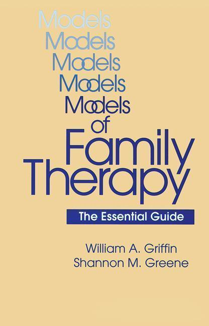 Models Of Family Therapy als Taschenbuch