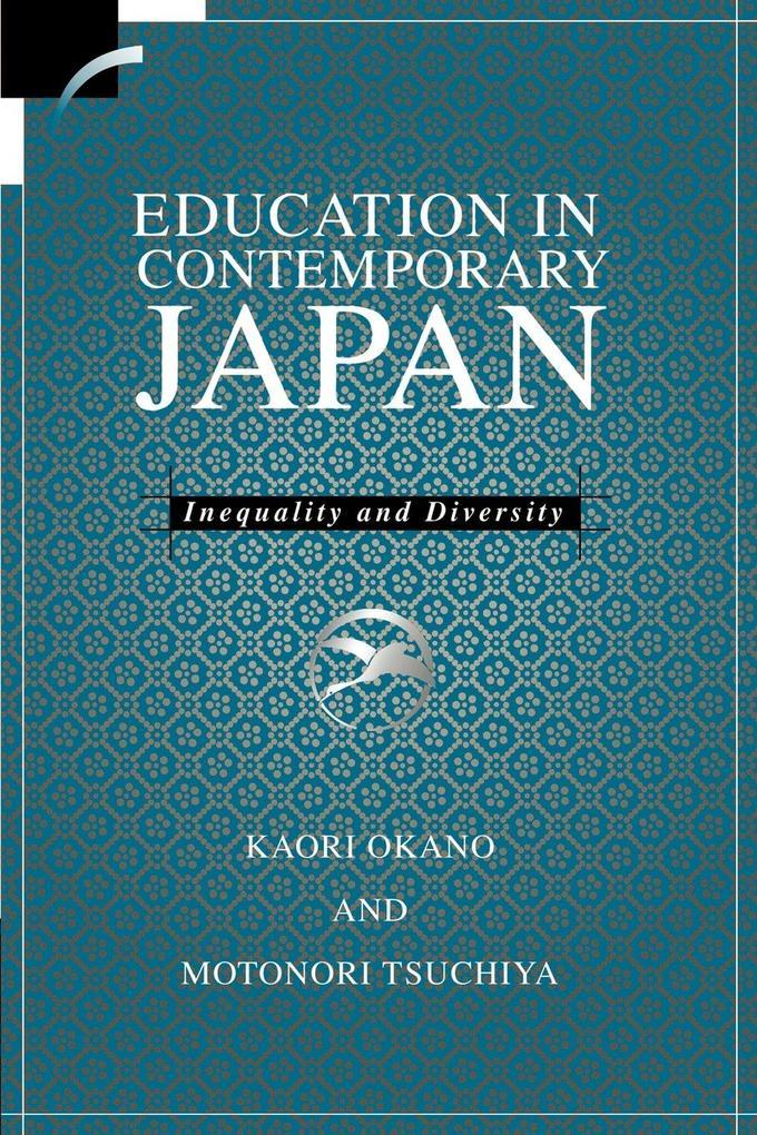 Education in Contemporary Japan als Buch (kartoniert)