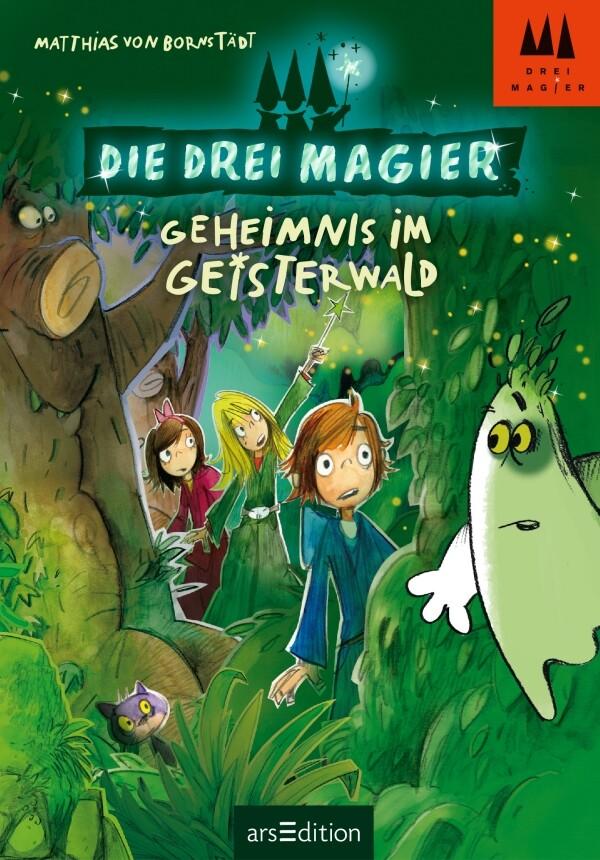 Die drei Magier - Geheimnis im Geisterwald als Buch von Matthias von Bornstädt