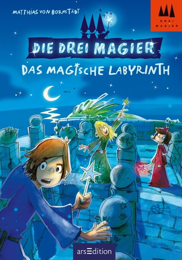 Die drei Magier - Das magische Labyrinth als Buch von Matthias von Bornstädt
