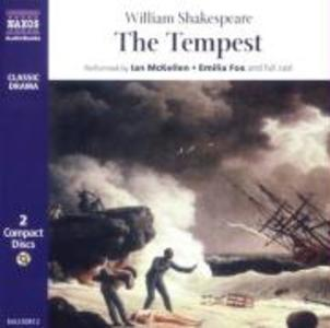 """""""The Tempest"""" als Hörbuch CD"""