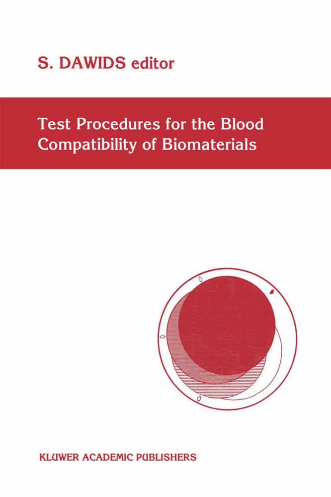 Test Procedures for the Blood Compatibility of Biomaterials als Buch