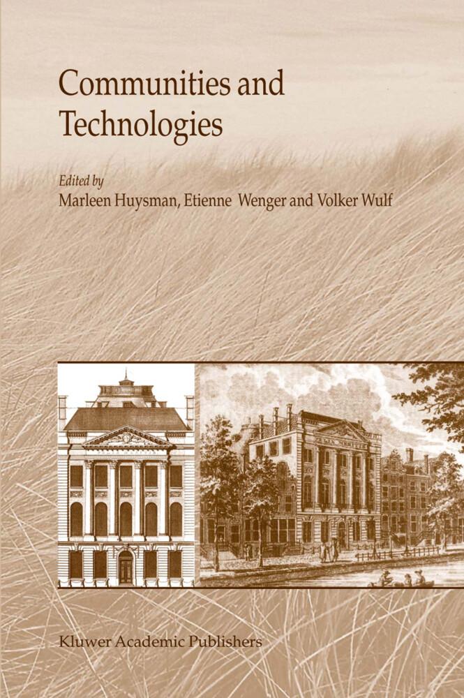 Communities and Technologies als Buch (gebunden)