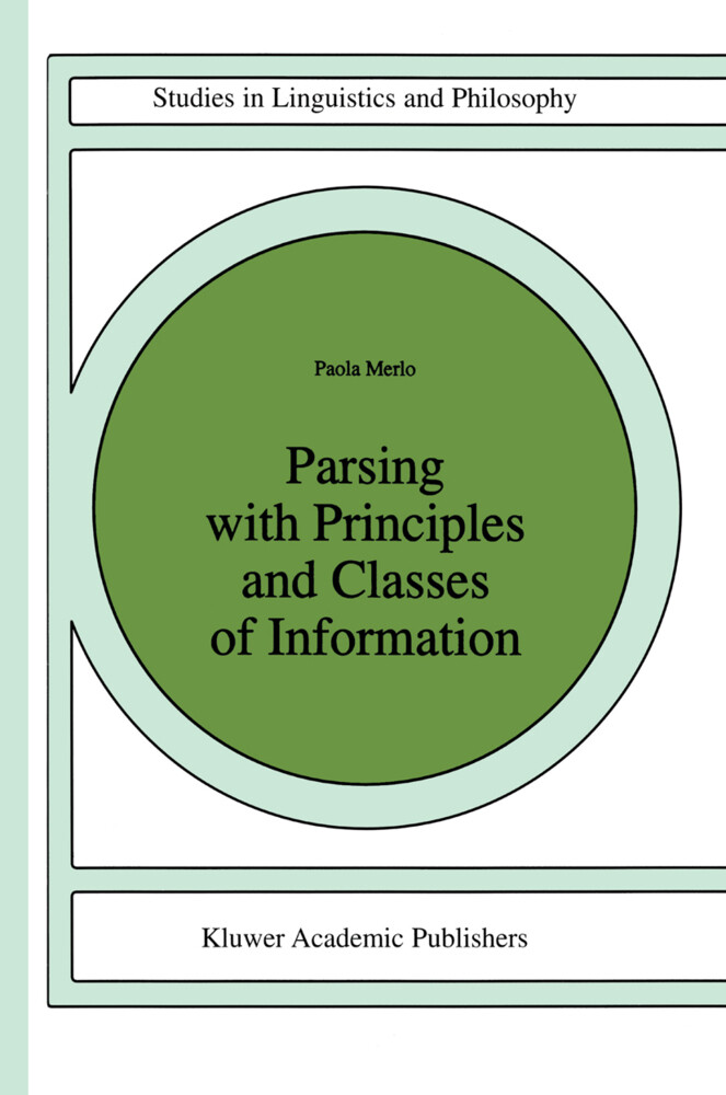 Parsing with Principles and Classes of Information als Buch