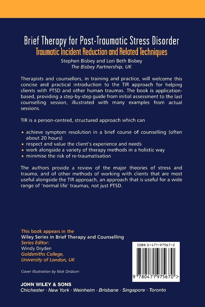 Brief Therapy for Post-Traumatic Stress als Buch