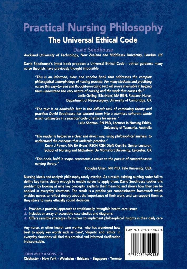 Practical Nursing Philosophy als Buch