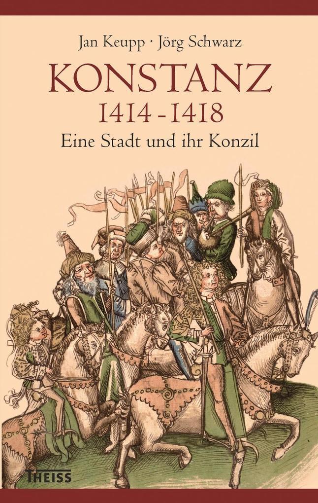 Konstanz 1414-1418 als Buch