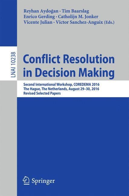 Conflict Resolution in Decision Making als Buch...