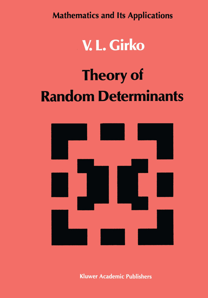 Theory of Random Determinants als Buch