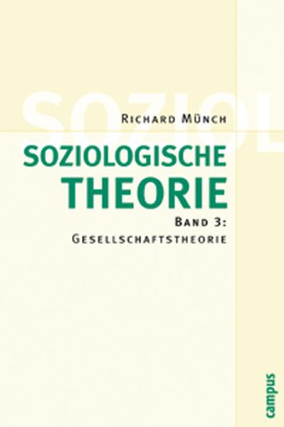 Soziologische Theorie 3 als Buch