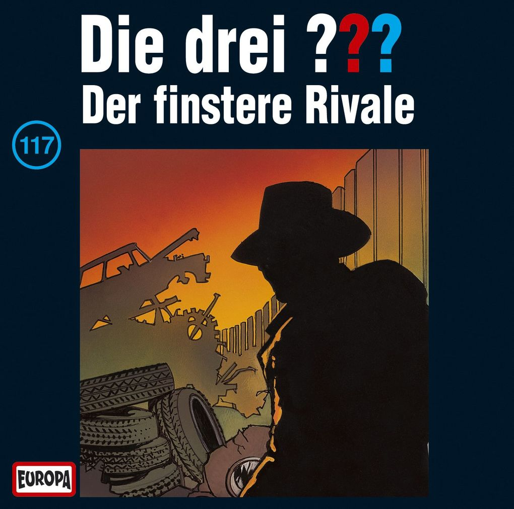 Die drei ??? 117. Der finstere Rivale. (drei Fragezeichen) CD als Hörbuch