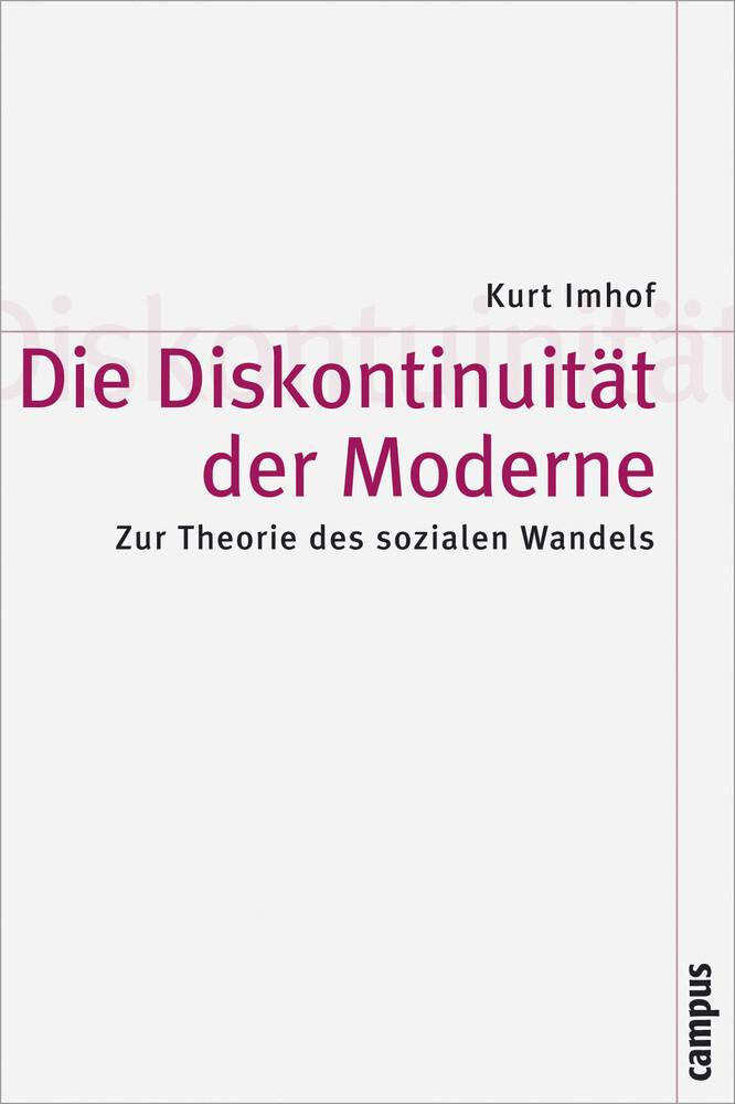 Die Diskontinuität der Moderne als Buch