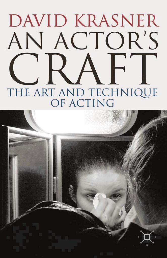 Actor´s Craft als eBook von David Krasner
