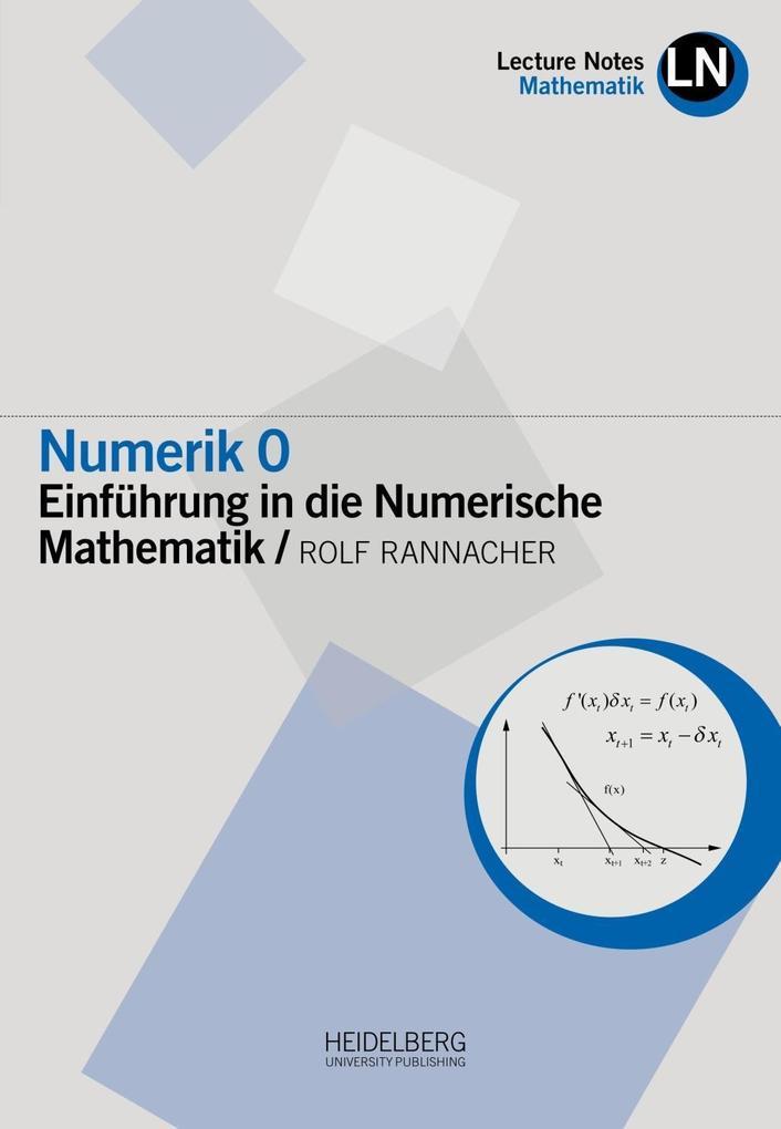 Numerik 0 als Buch