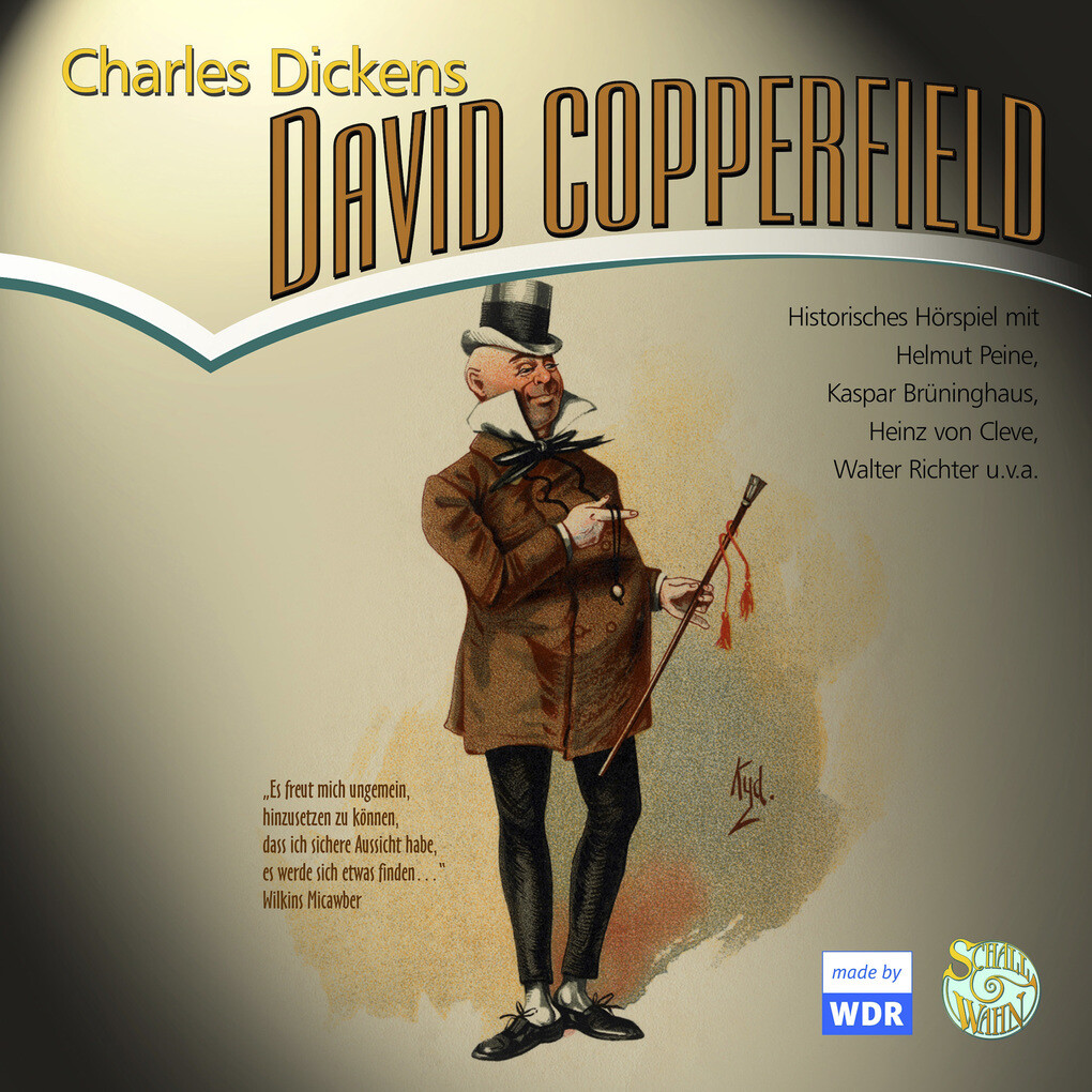 David Copperfield als Hörbuch Download