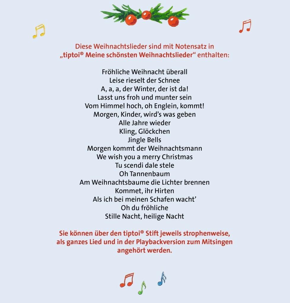 tiptoi® Meine schönsten Weihnachtslieder (Buch), Cornelia Neudert