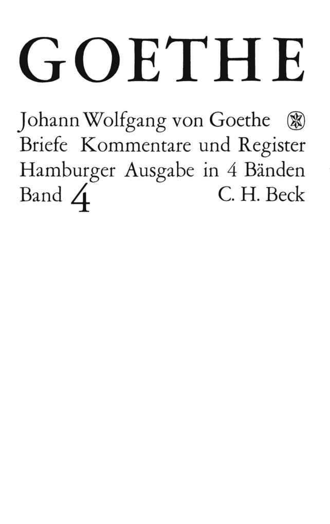 Goethes Briefe und Briefe an Goethe Bd. 4: Briefe der Jahre 1821-1832 als eBook