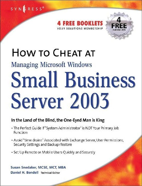 How to Cheat at Managing Windows Small Business Server 2003 als Buch