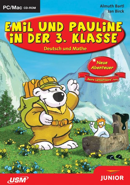 Emil und Pauline in der 3. Klasse. CD-ROM für Windows/Mac als Software