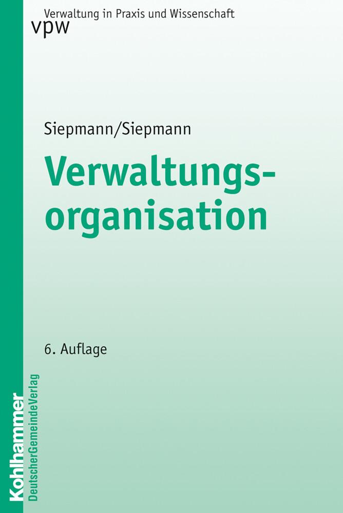 Verwaltungsorganisation als Buch