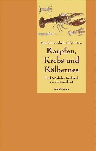 Karpfen, Krebs und Kälbernes als Buch