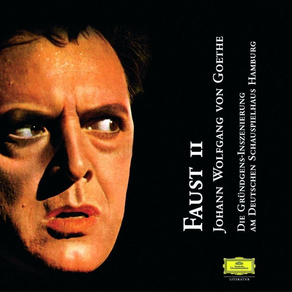 Faust II. 2 CDs als Hörbuch CD