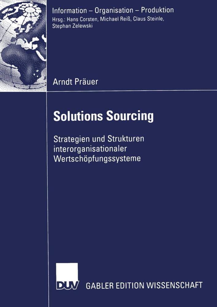 Solutions Sourcing als Buch (kartoniert)