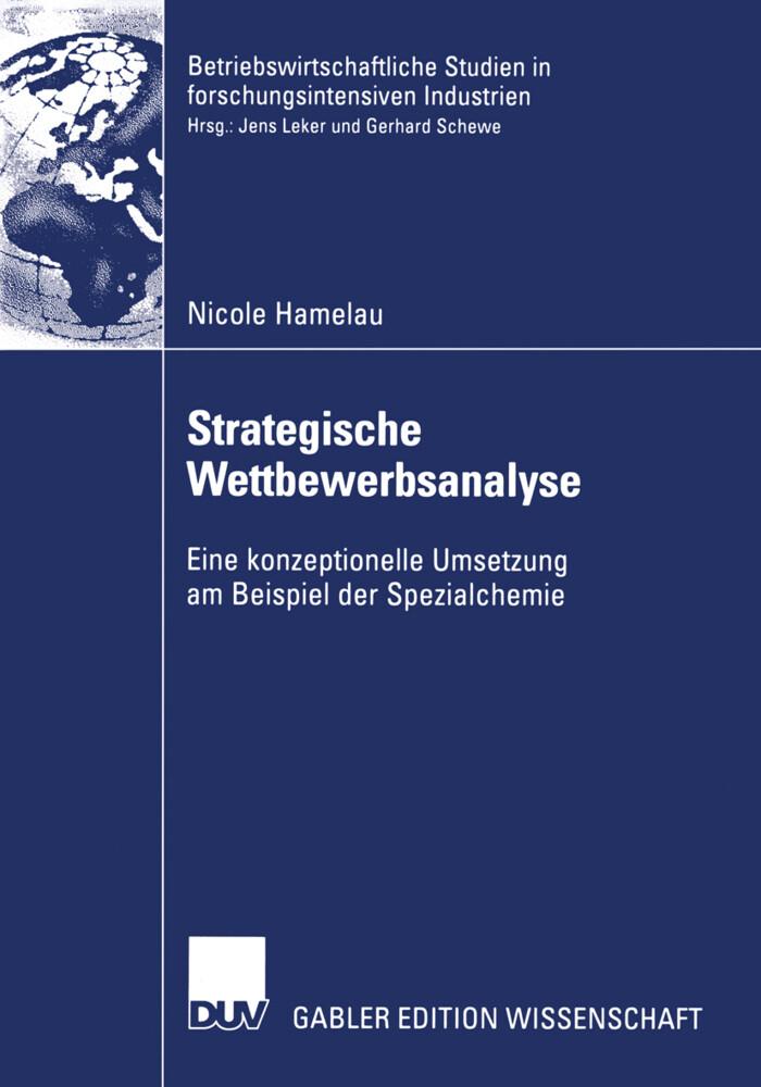Strategische Wettbewerbsanalyse als Buch (kartoniert)