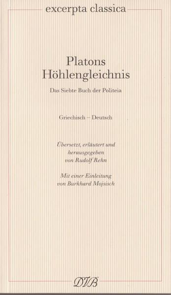 Platons Höhlengleichnis als Buch (kartoniert)