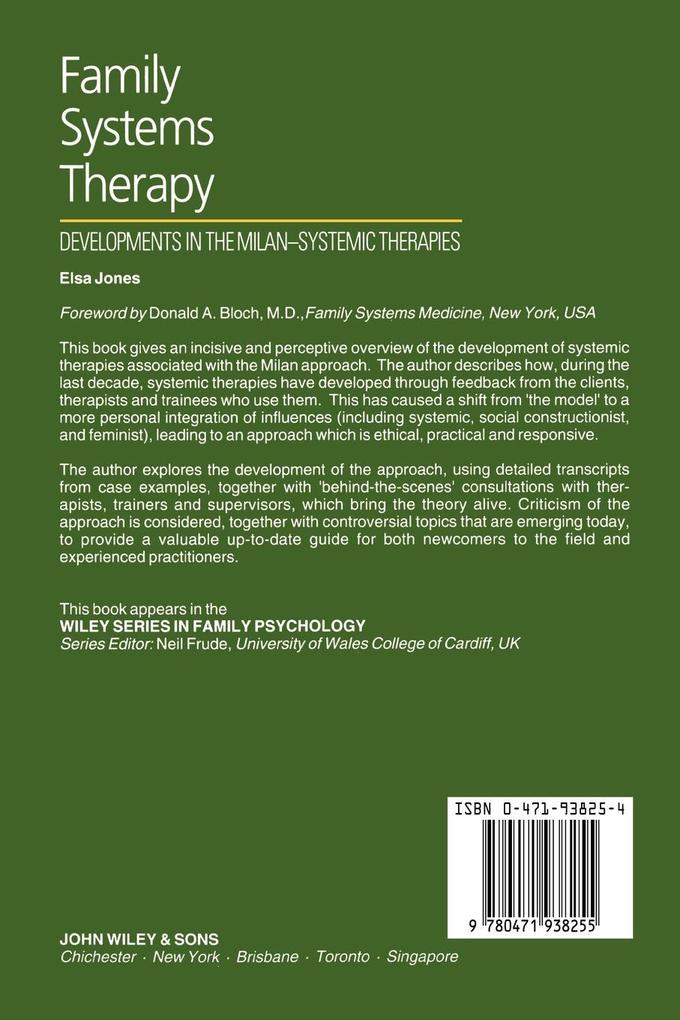 Family Systems Therapy als Buch (kartoniert)