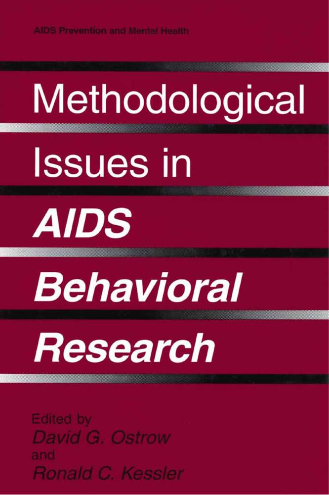 Methodological Issues in AIDS Behavioral Research als Buch (gebunden)