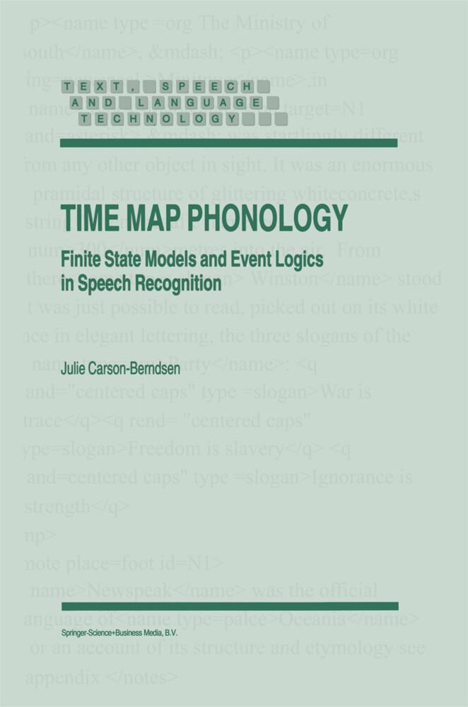 Time Map Phonology als Buch (gebunden)