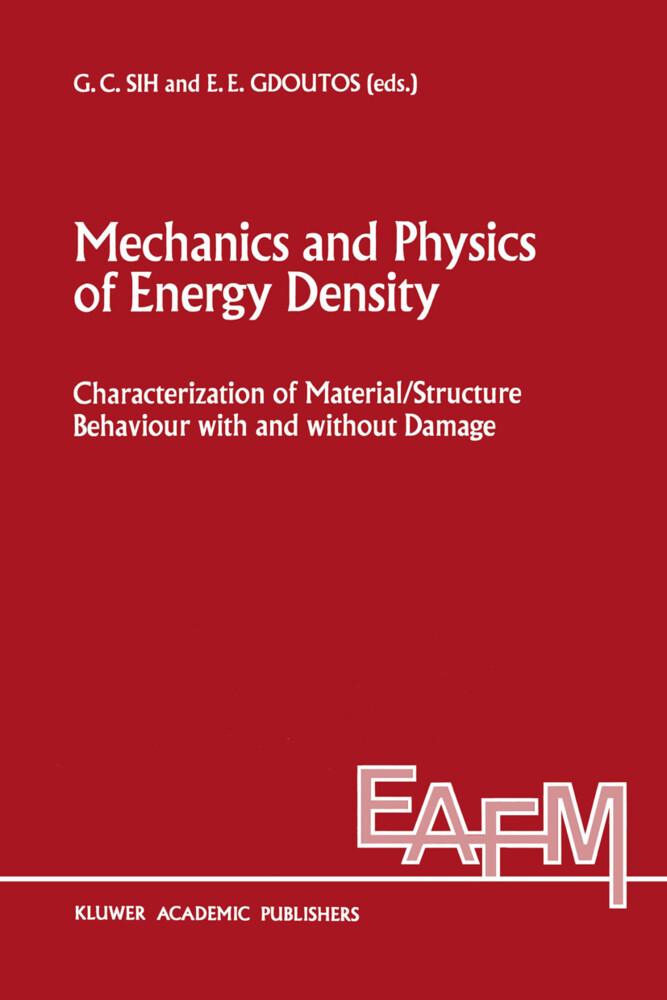 Mechanics and Physics of Energy Density als Buch (gebunden)