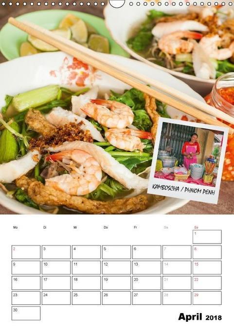 Der Küchenplaner food der küchenplaner wandkalender 2018 din a3 hoch