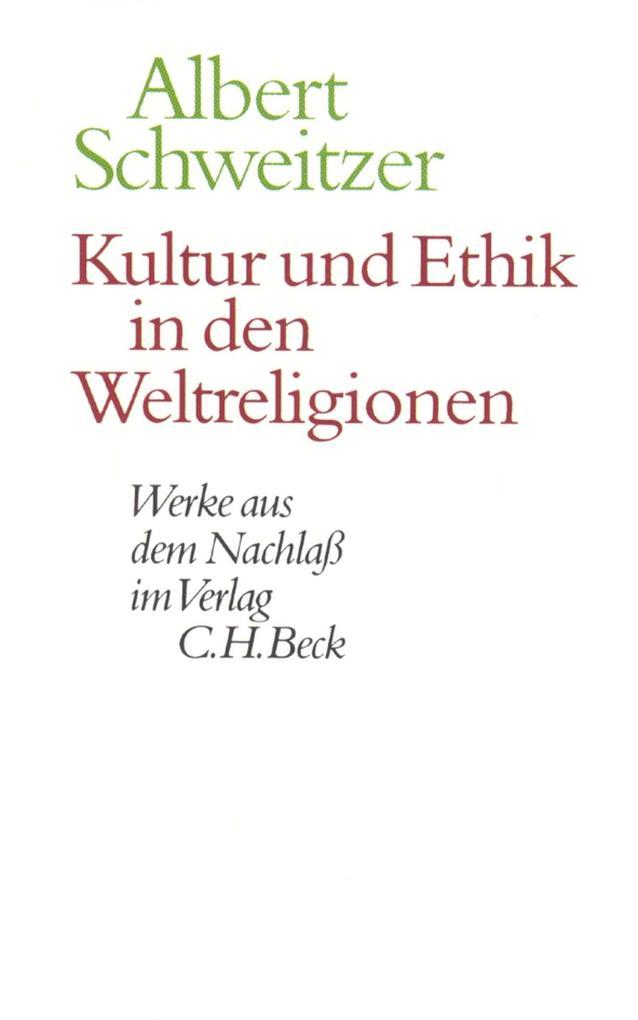 Kultur und Ethik in den Weltreligionen als eBook