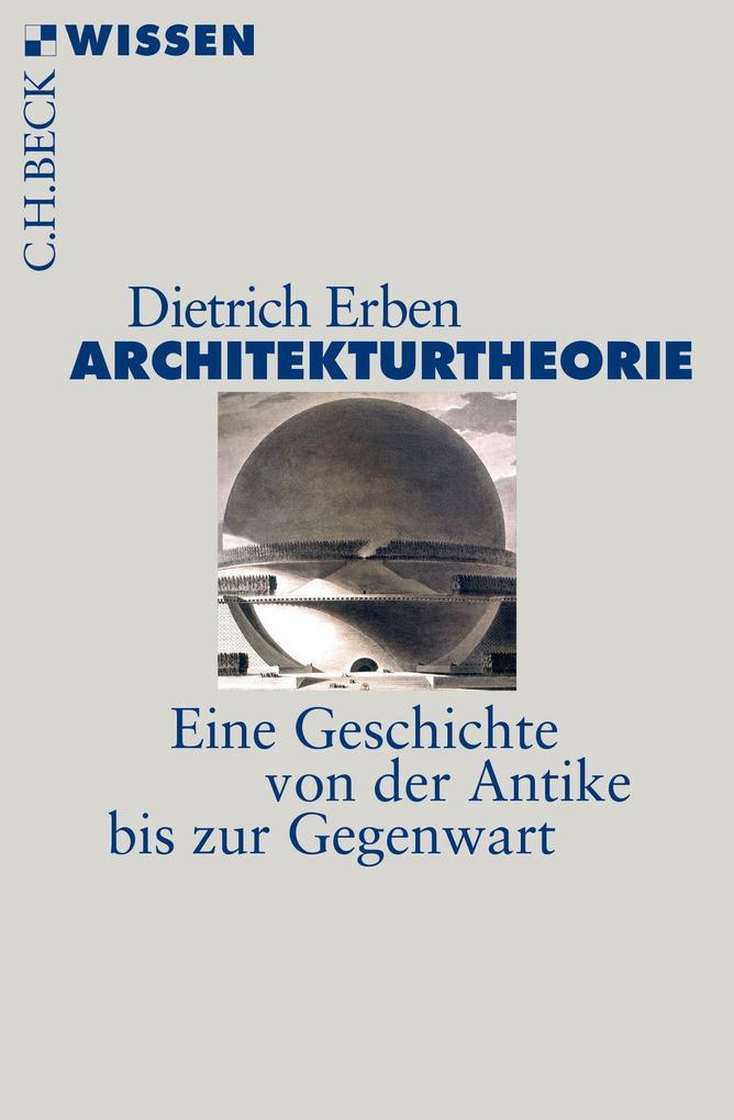 Architekturtheorie als Taschenbuch