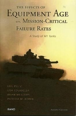 The Effects of Equipment Age on Mission Critical Failure Rates: A Study of M1 Tanks als Taschenbuch