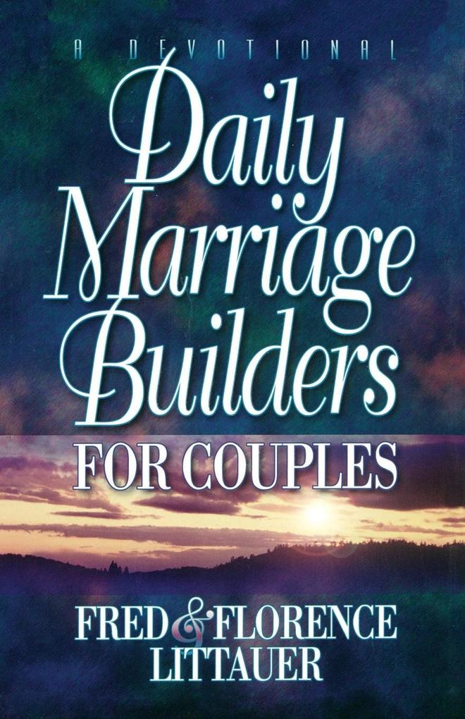 Daily Marriage Builders for Couples als Taschenbuch